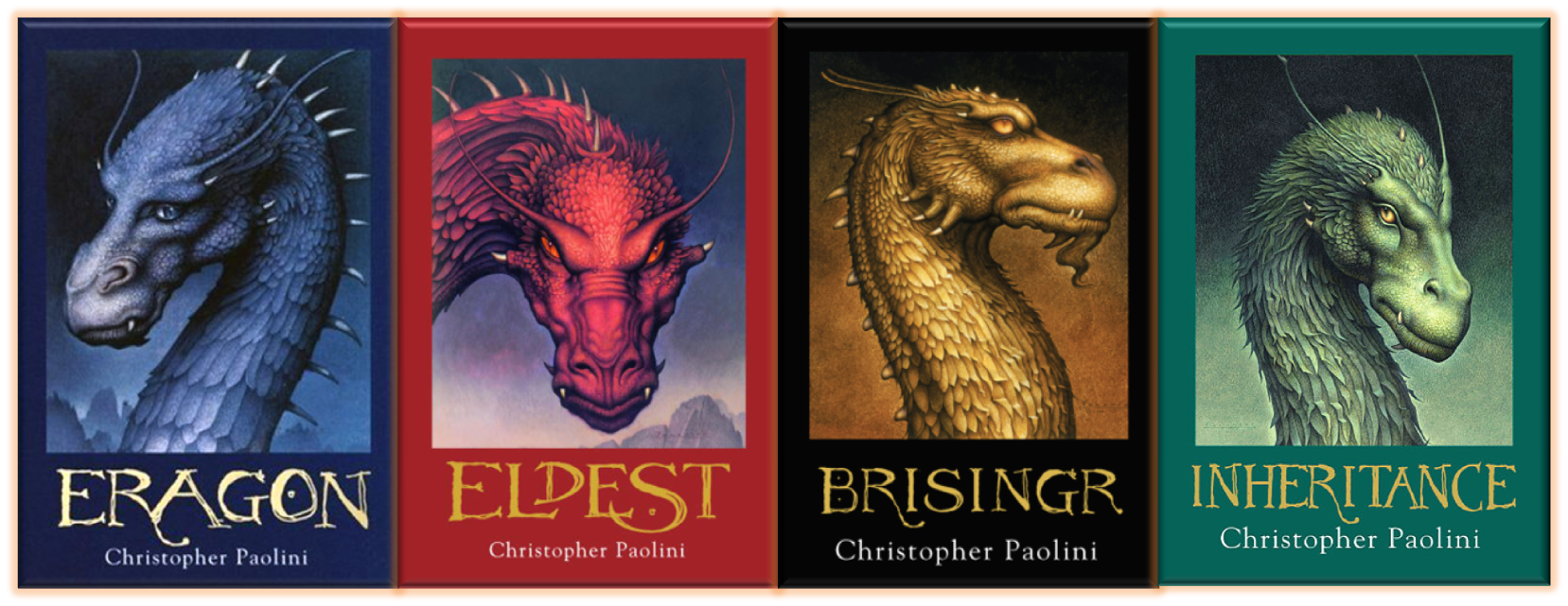 The Inheritance Cycle Covers from https://brownbooks.org/2012/09/09/the-inheritance-cycle/